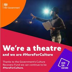 THANK YOU @DCMS & #HereForCulture!!